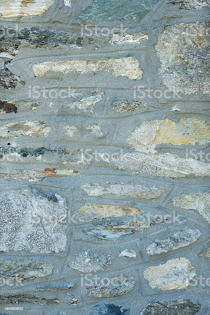 Weathered rock wall as a background stock photo