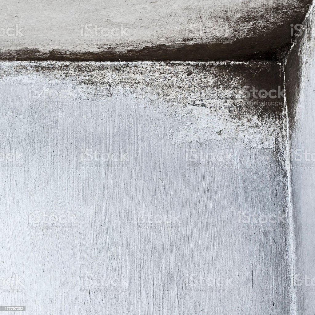Weathered textured light grey wall background stock photo