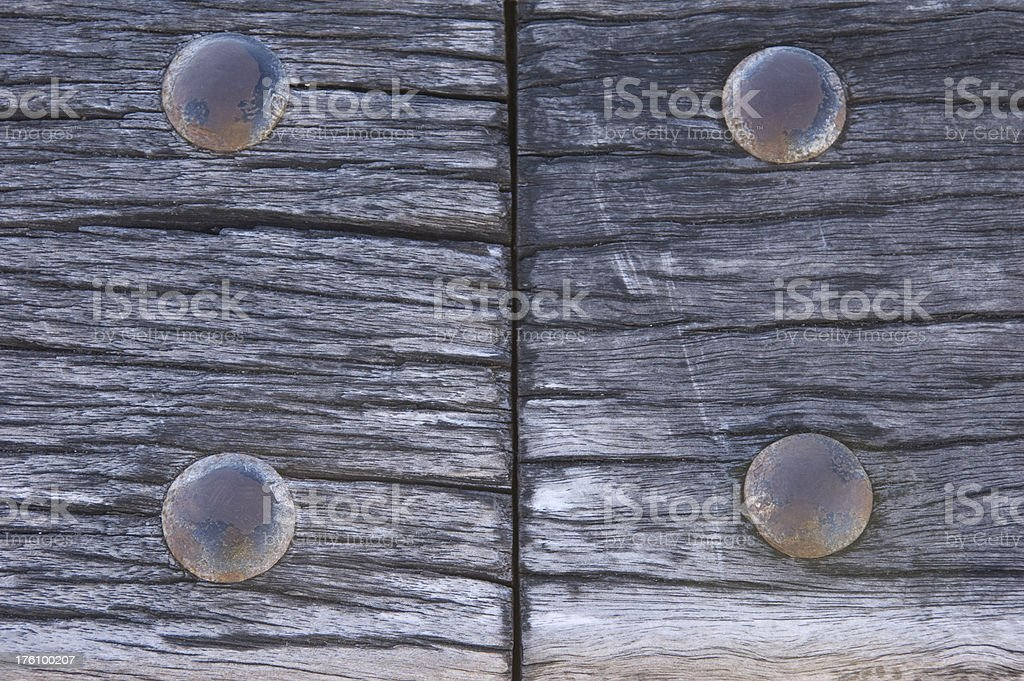 Weathered Timber Texture royalty-free stock photo