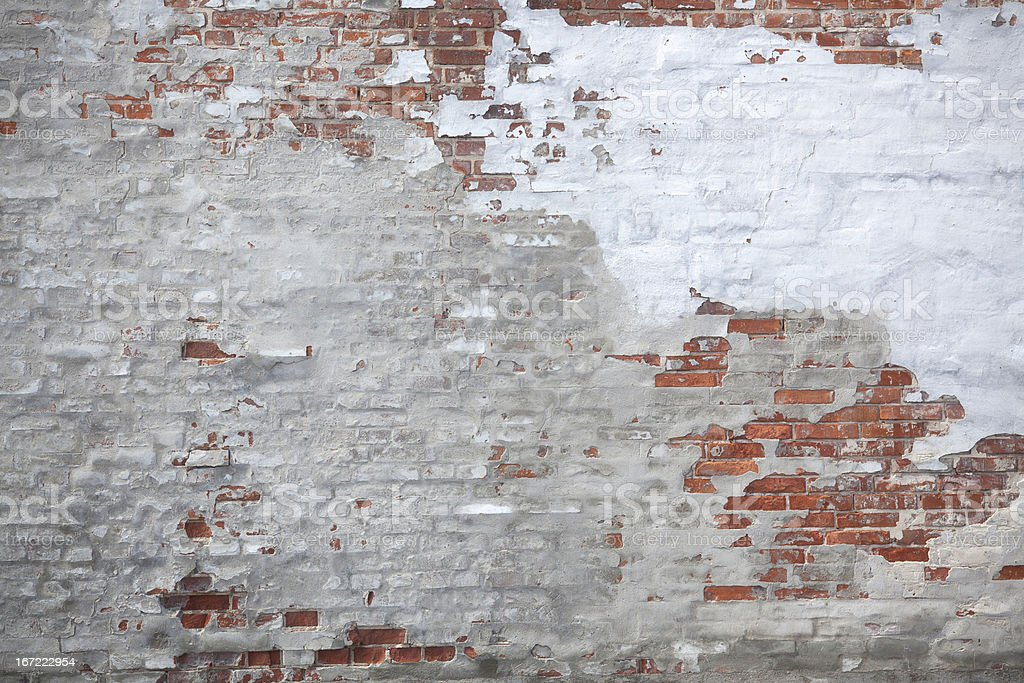 Weathered urban wall stock photo