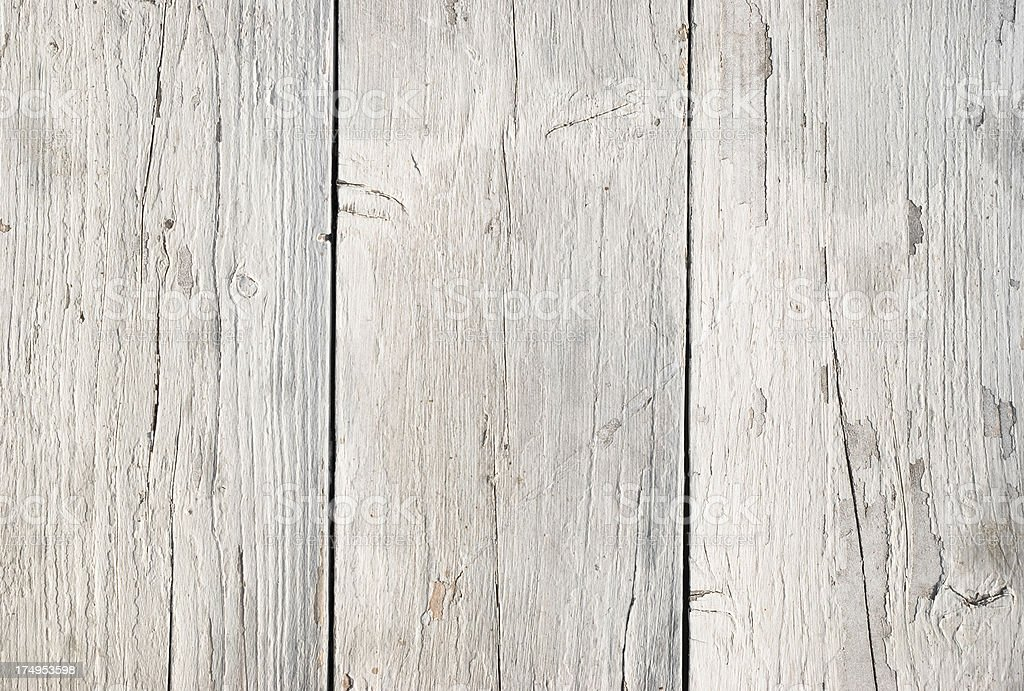 Weathered white plank royalty-free stock photo