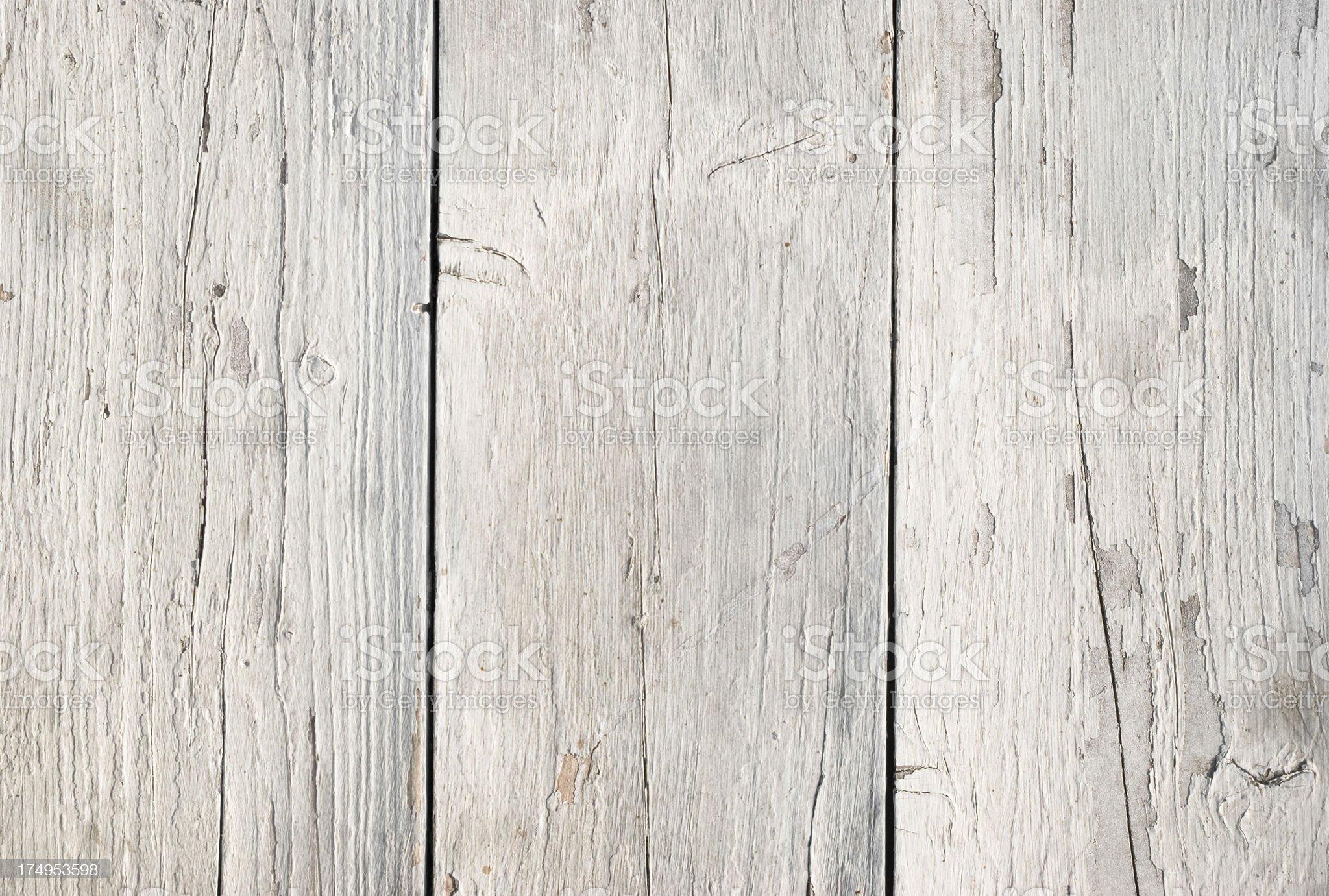 Weathered white plank royalty-free stock photo