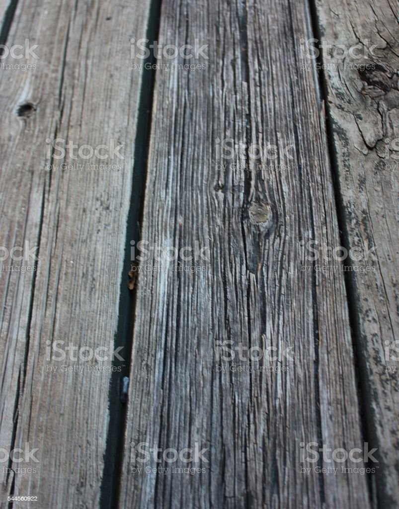Weathered Wood Boards stock photo