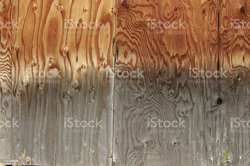 Weathered Wood Grain royalty-free stock photo