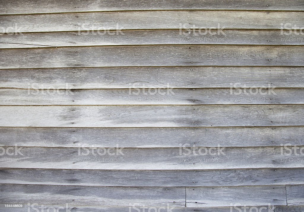 Weathered wood panel background stock photo