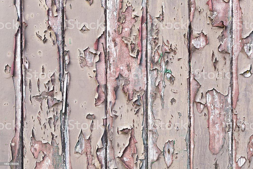 Weathered wood panel background royalty-free stock photo