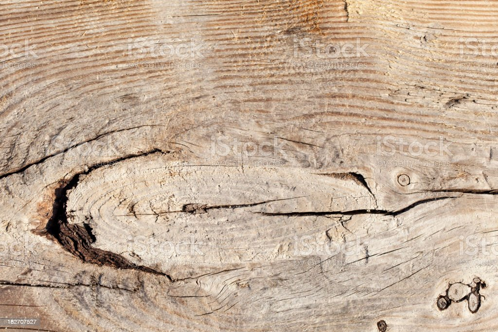 Weathered wooden background. Board found on the beach. royalty-free stock photo
