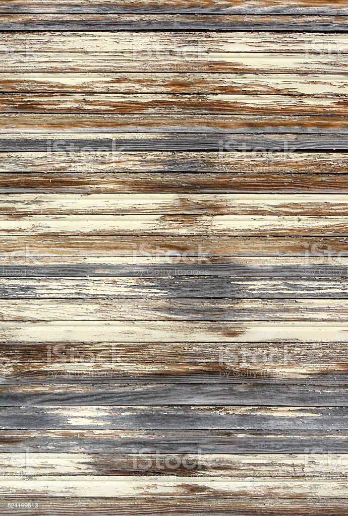Weathered wooden blinds royalty-free stock photo