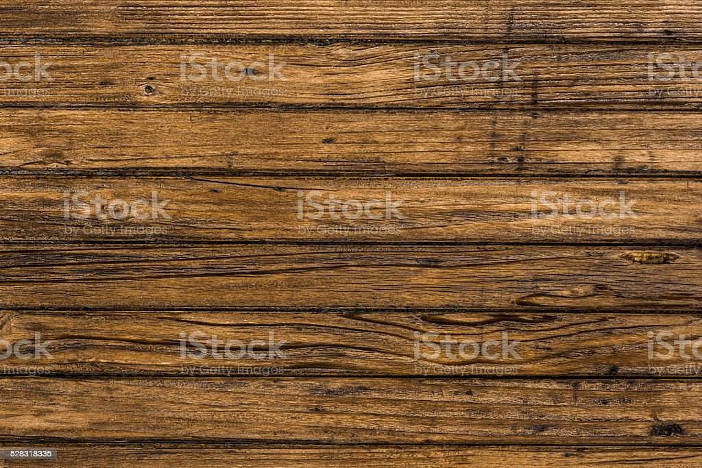 Weathered wooden board stock photo