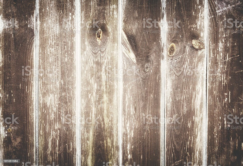 Weathered wooden boards royalty-free stock photo
