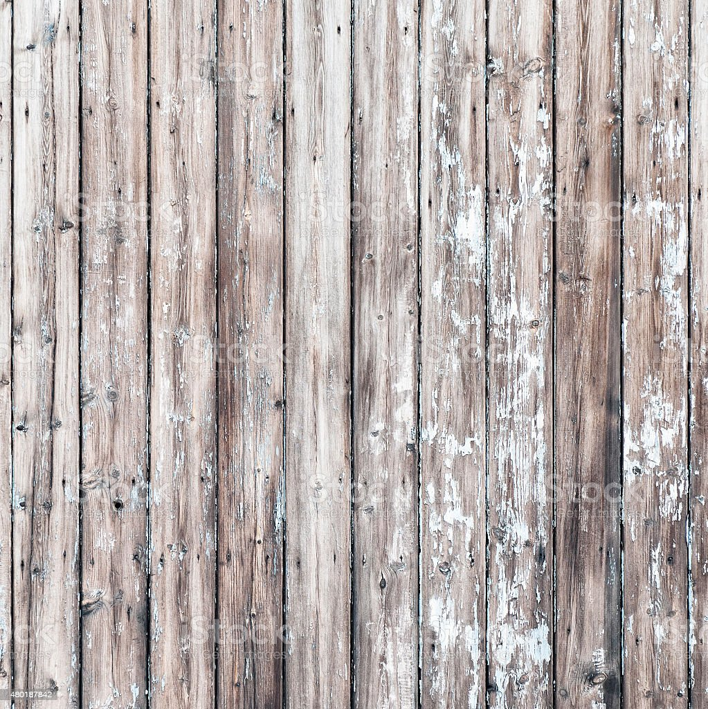 Weathered Wooden Boards stock photo