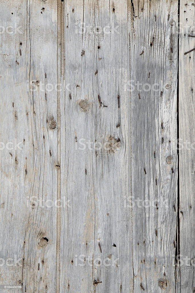 Weathered Wooden Church Door Background stock photo