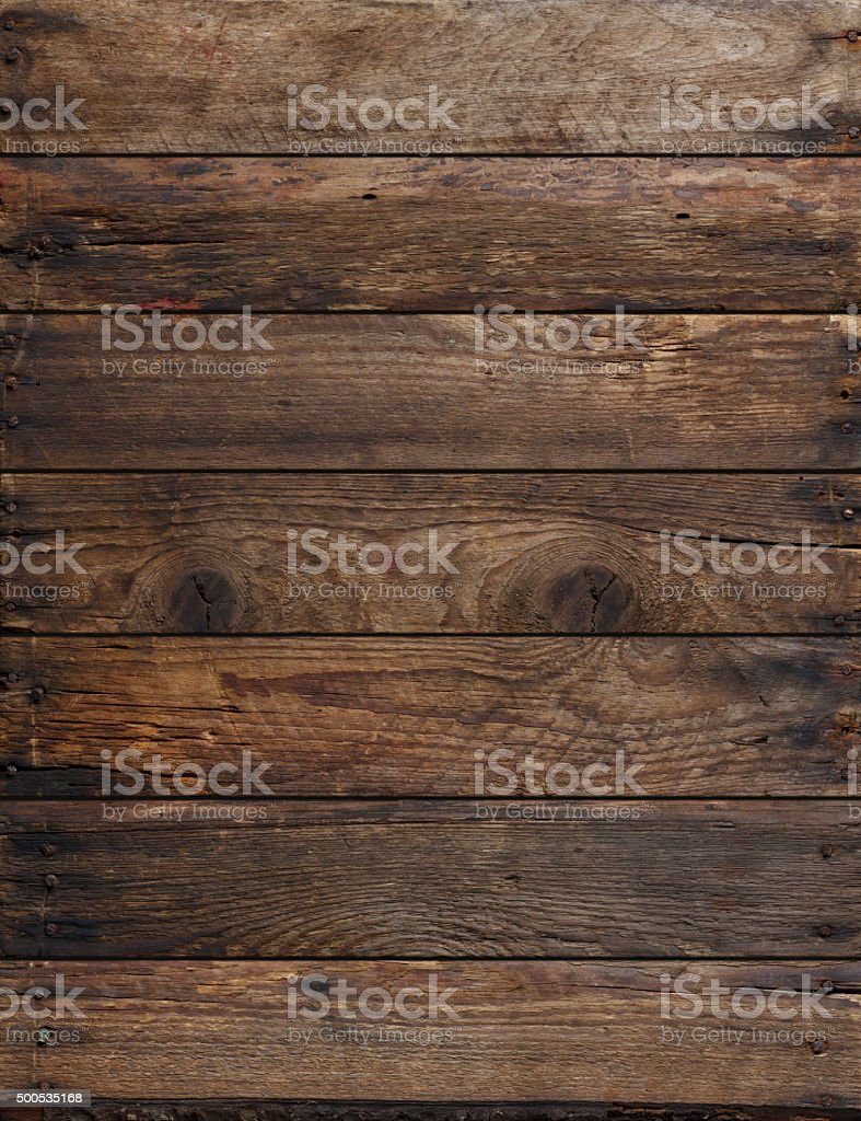 Weathered wooden planks background stock photo