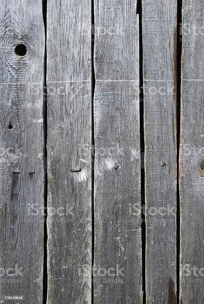 Weathered wooden planks royalty-free stock photo