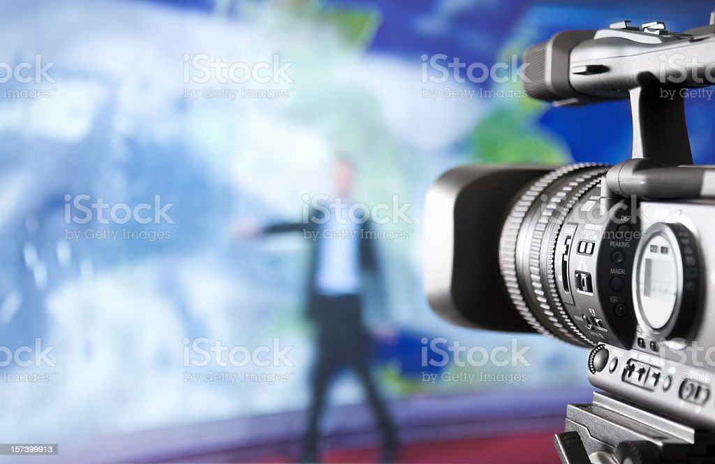 Weatherforecast stock photo