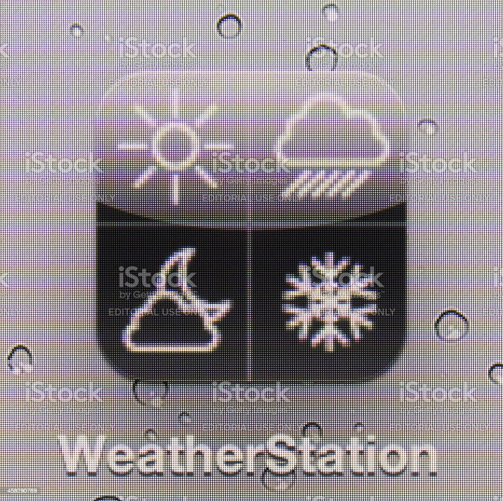 WeatherStation royalty-free stock photo