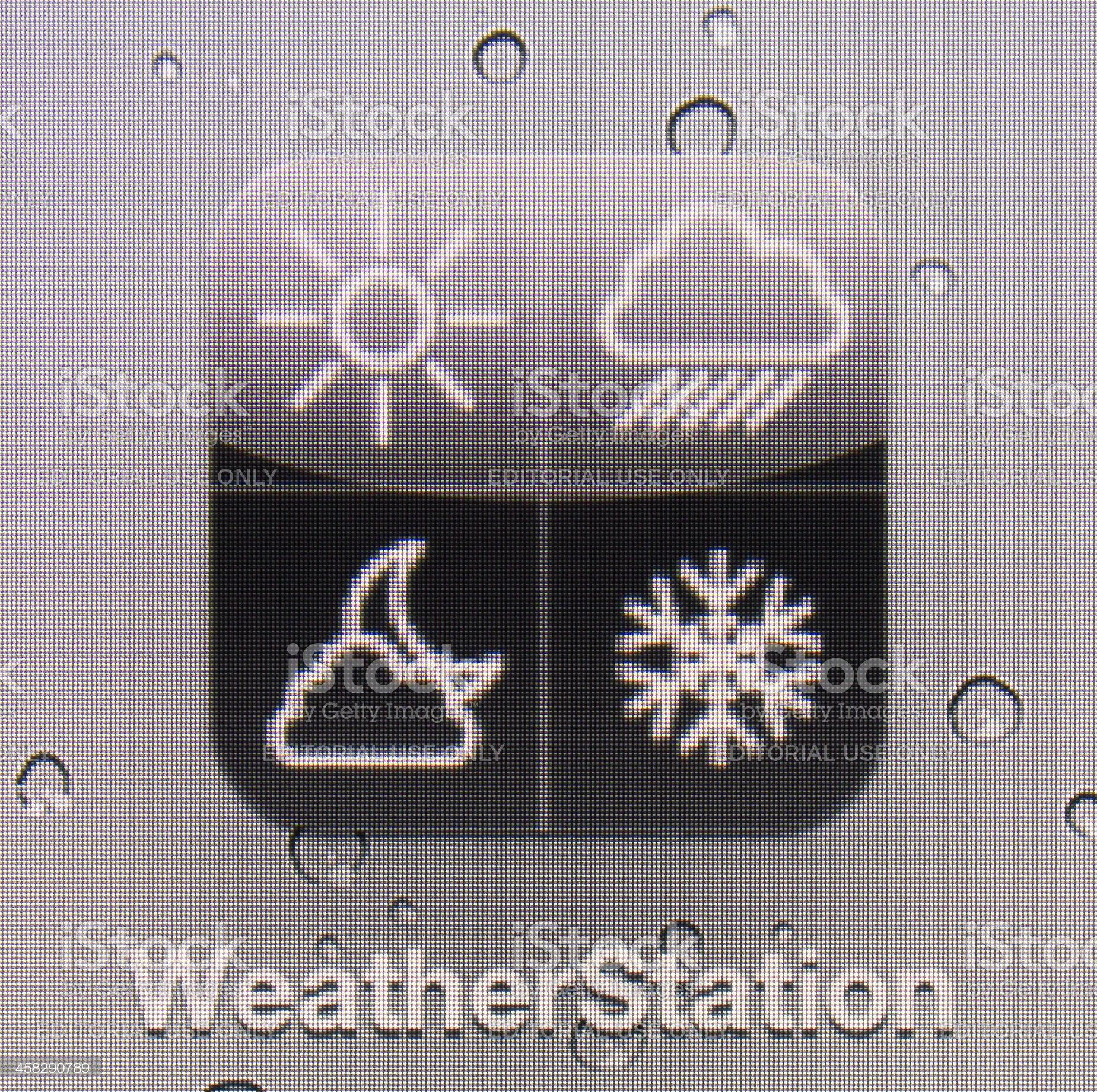 WeatherStation royalty-free stock photo
