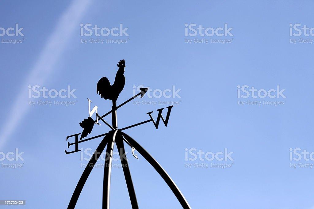 Weathervane royalty-free stock photo