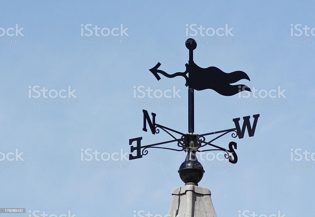 weathervane wind direction decoration stock photo