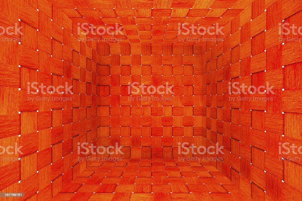 Weave old wood box texture background royalty-free stock photo