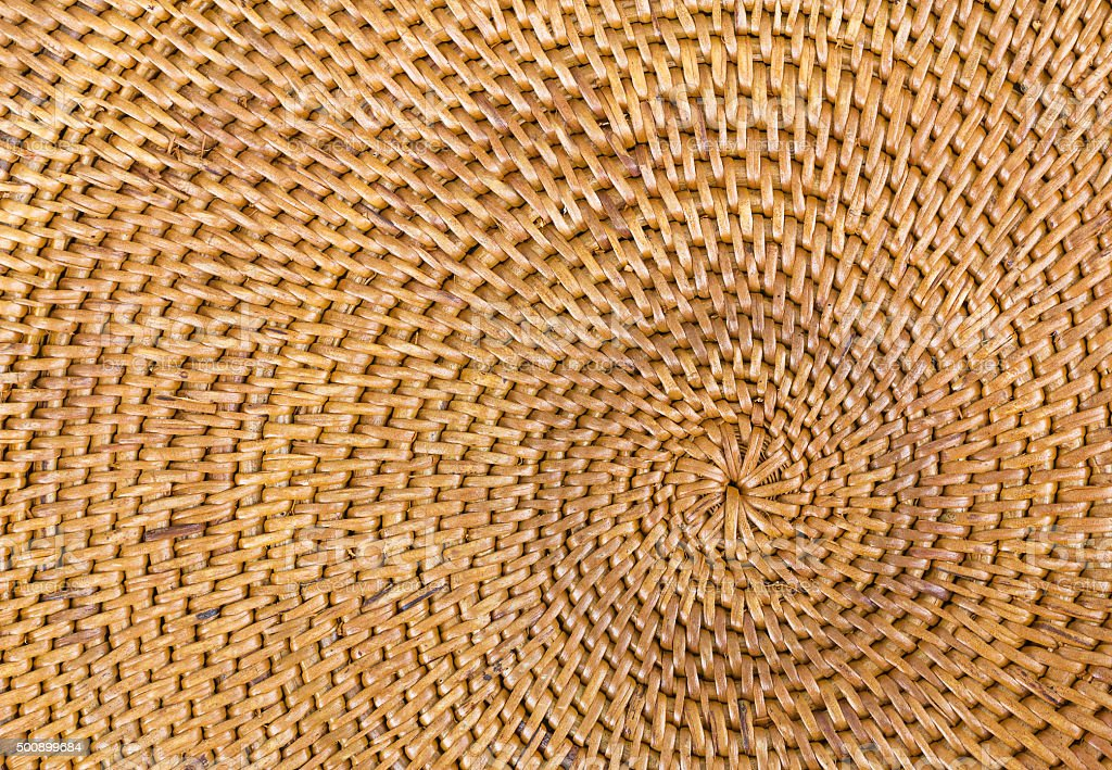 Weave pattern  rattan background stock photo