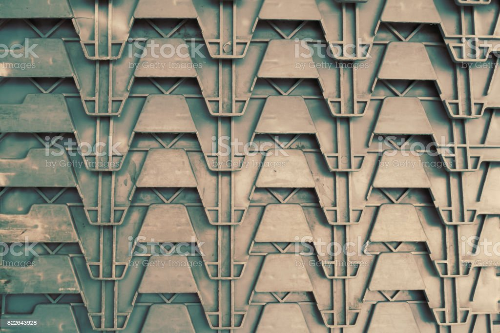 weave plastic pattern stock photo