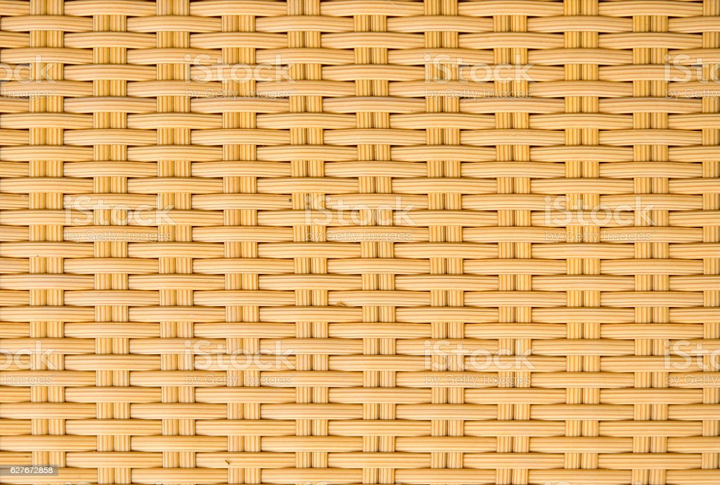 weave plastic wicker pattern background stock photo