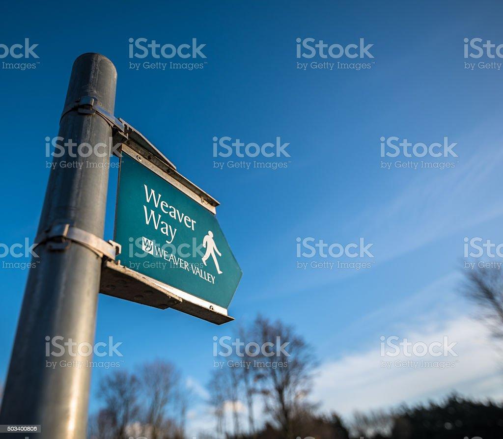 Weaver Valley stock photo
