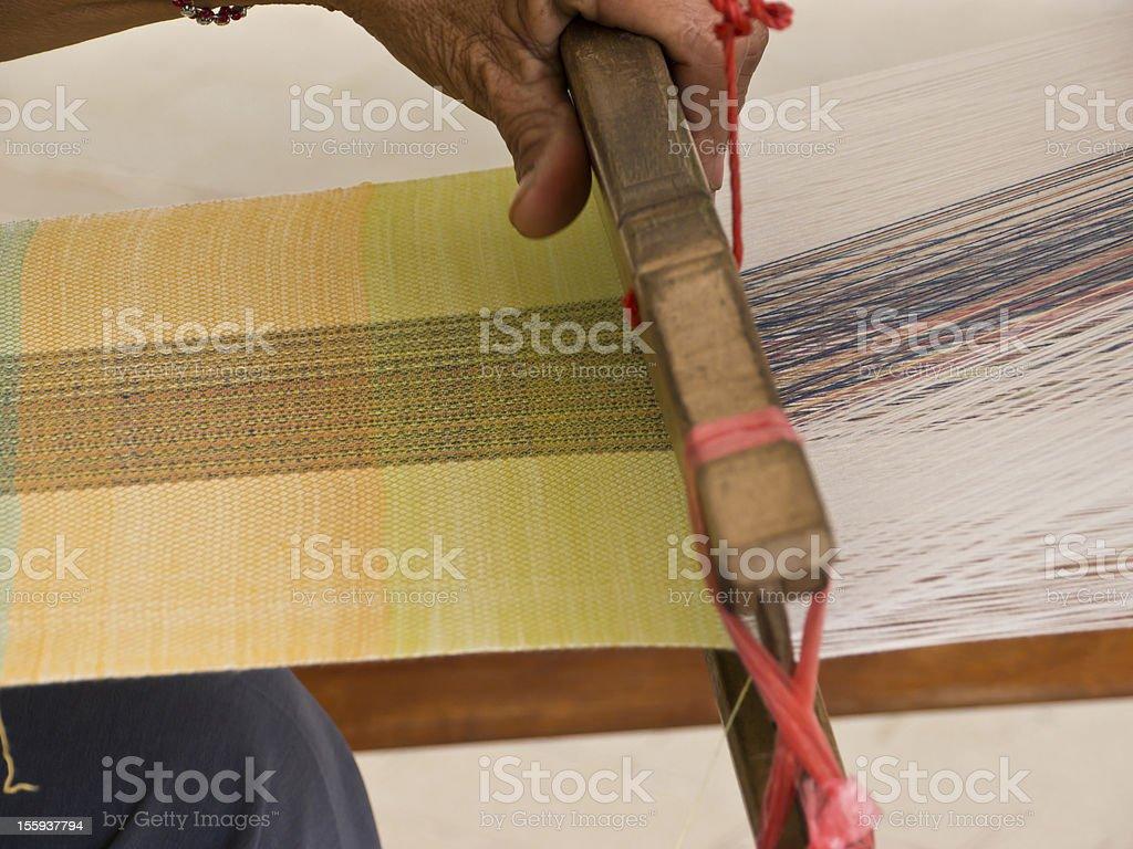 Weaving apparatus royalty-free stock photo