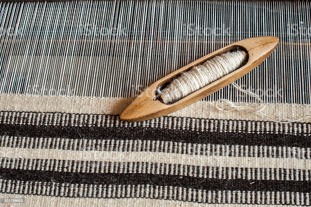 Weaving background stock photo