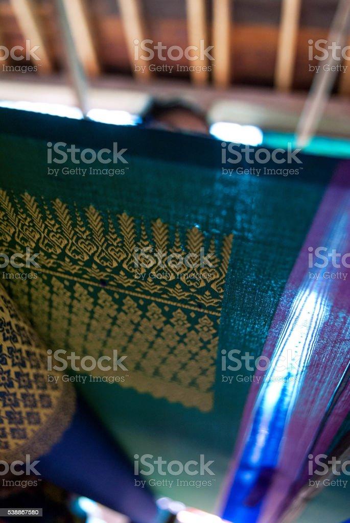 weaving detail stock photo