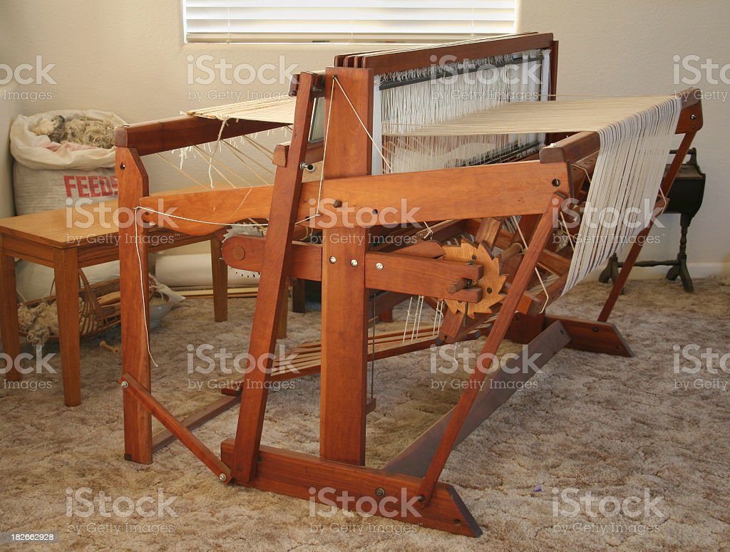 Weaving Loom royalty-free stock photo