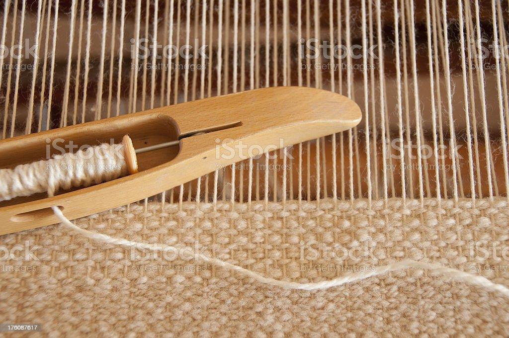 Weaving stock photo