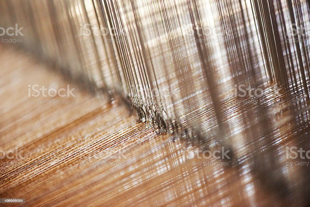 Weaving stock photo