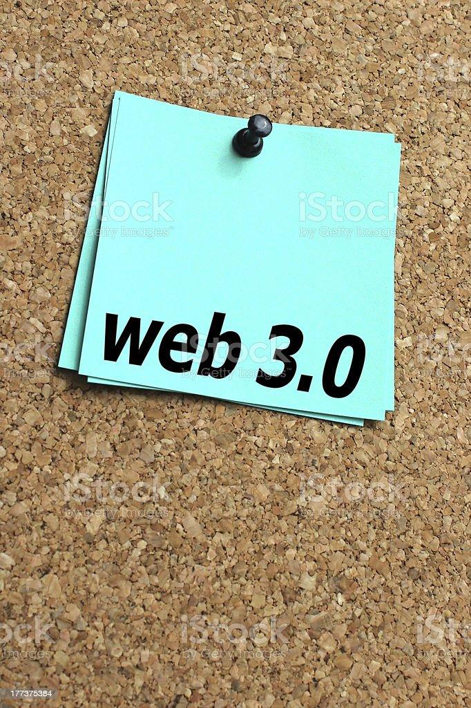 web 3.0 stock photo