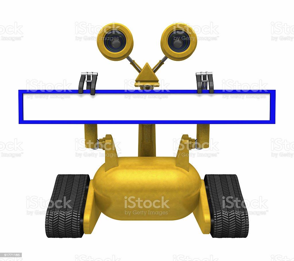 Web Address Robot royalty-free stock photo