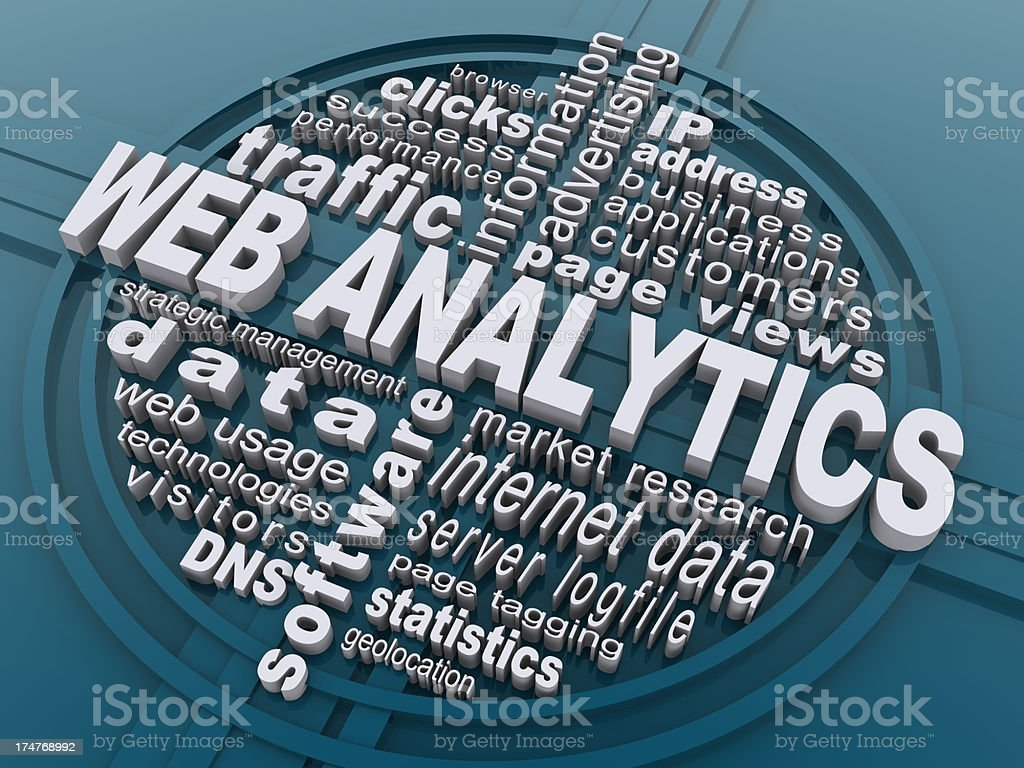 web analytics royalty-free stock photo