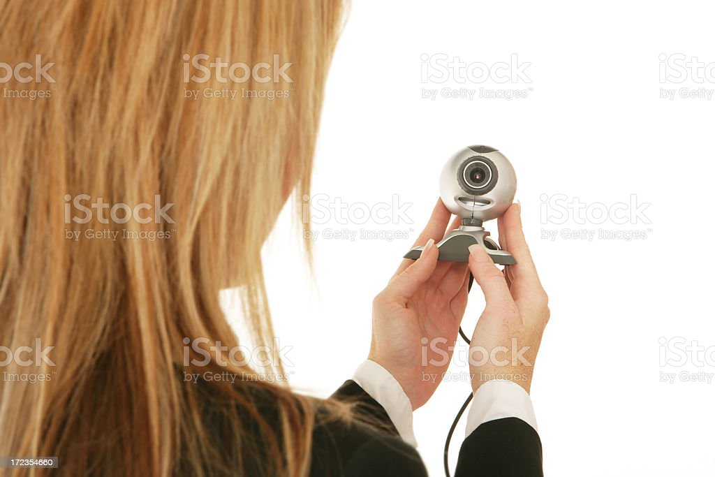 Web Cam royalty-free stock photo