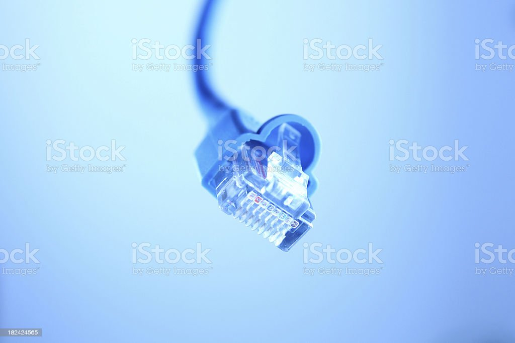 Web connector stock photo