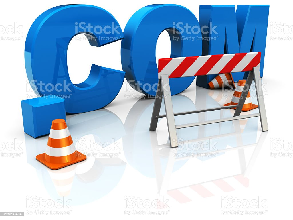 web construction stock photo