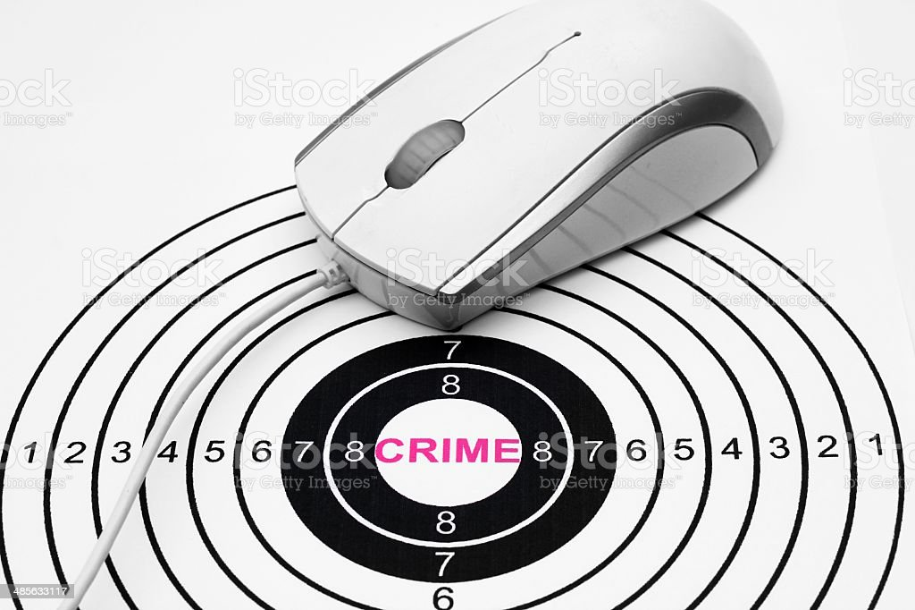 Web crime concept royalty-free stock photo