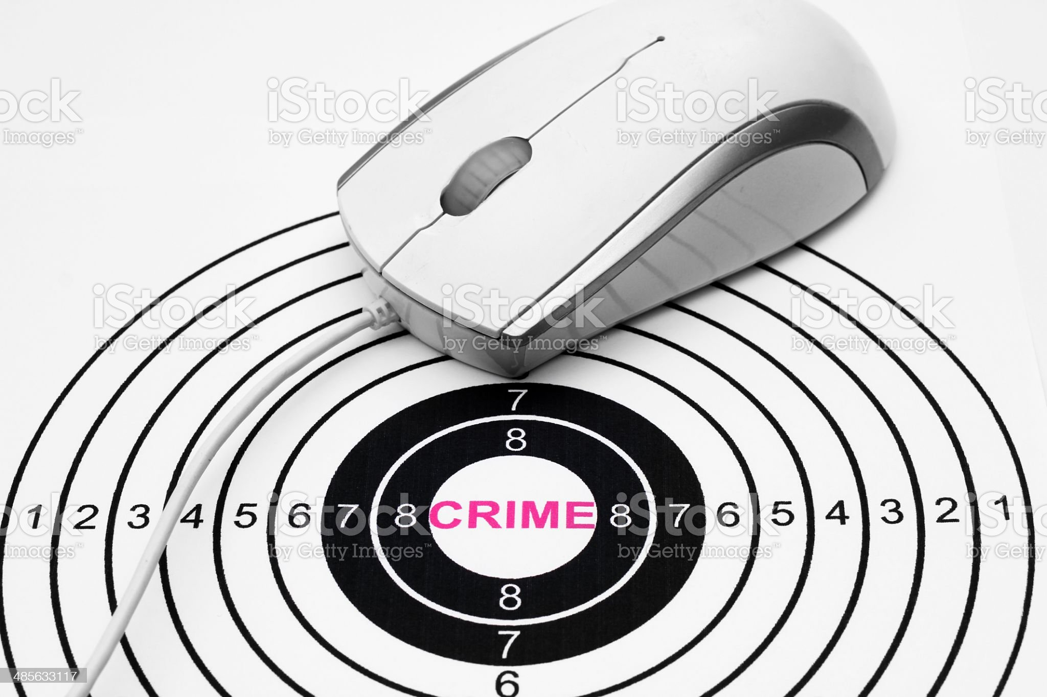 Web crime concept royalty-free stock photo