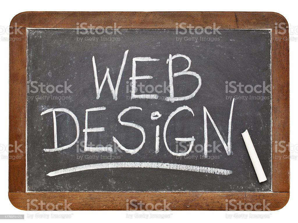 web design concept royalty-free stock photo