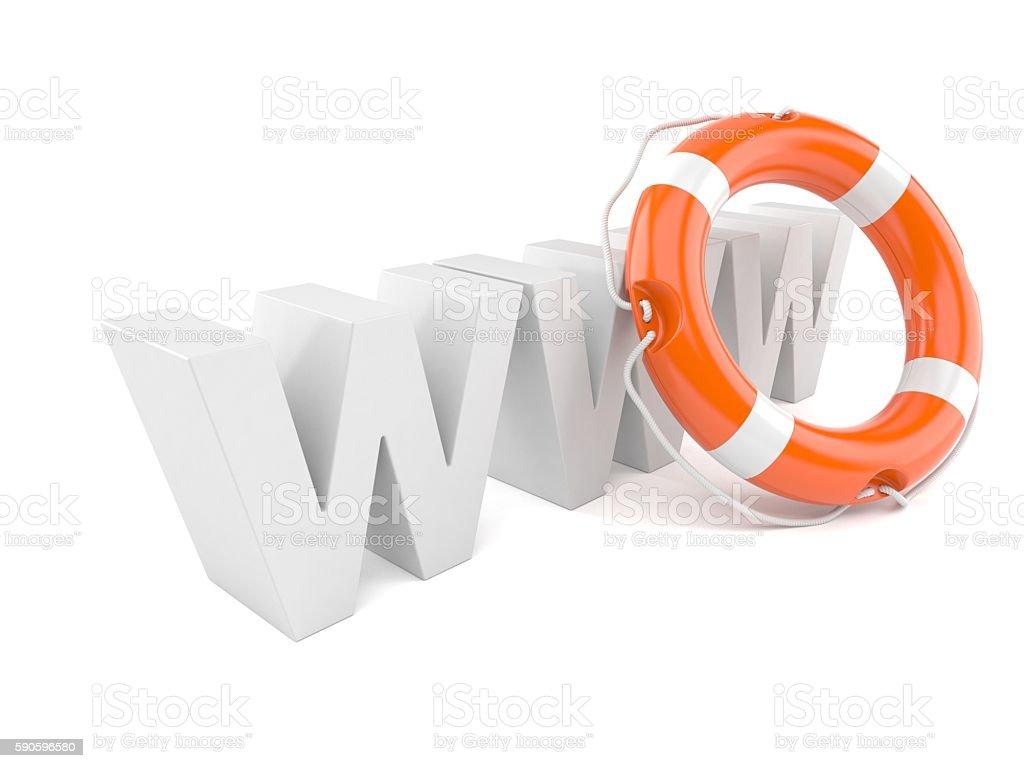 Web help stock photo