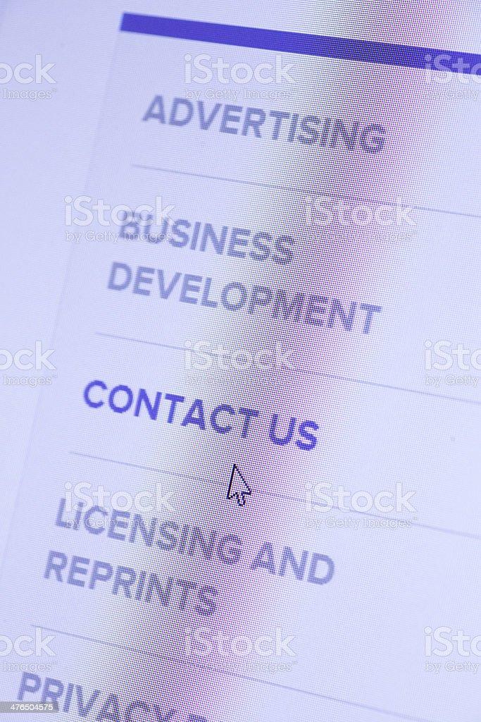Web Icon stock photo