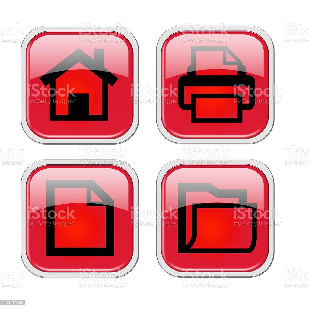 web icons royalty-free stock photo