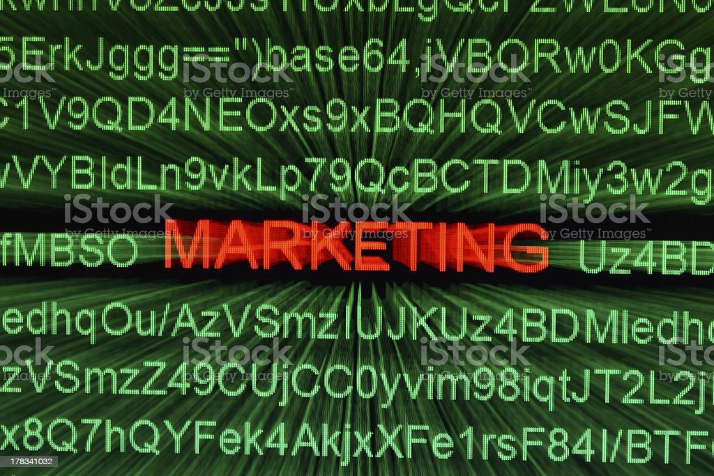 Web marketing royalty-free stock photo
