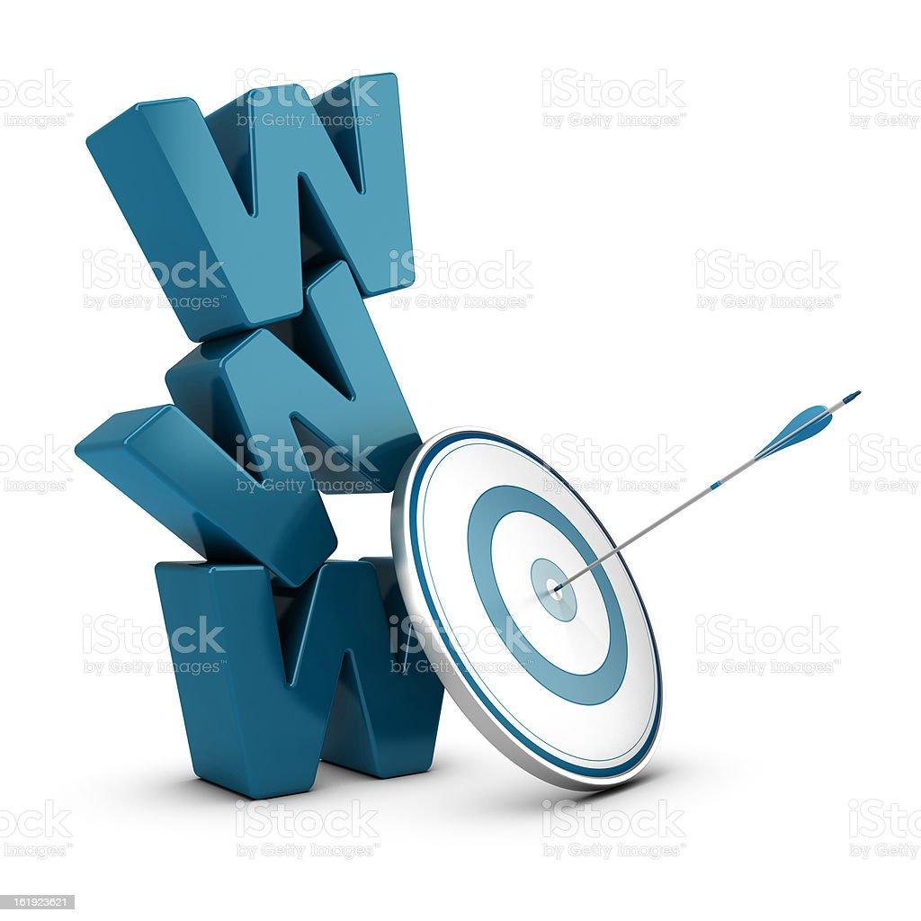 Web Marketing Strategy, Internet Business stock photo