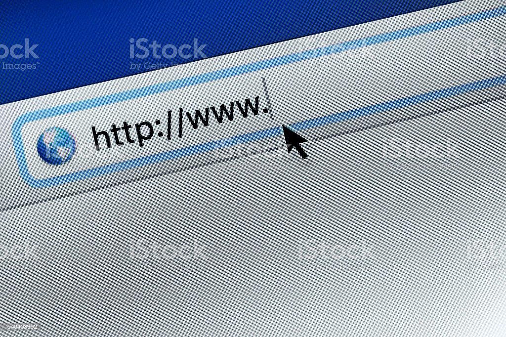 web page access stock photo