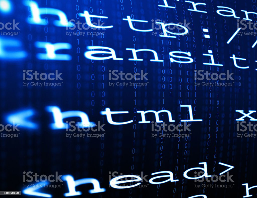 web page code royalty-free stock photo